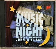 Boston Pops John Williams Music of the Night on Broadway 1990 Show Tunes CD