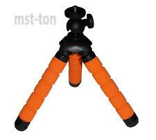 Kamerastativ 13 cm mit 3 flexiblen Beinen - Stativ 5 Glieder für Fotografie