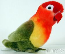 KOSEN Made in Germany NEW Green/Yellow/Red Fischer's Love Bird PLUSH TOY