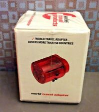 World Travel Electrical Plug Adapter For 150+ Countries By Swiss Travel Products