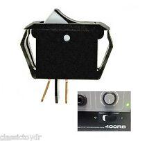 GK Gallien Krueger Bass Amp 400RB 800RB 250RL Rocker Switch Black & White NOS