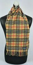BURBERRY SCARF 100% CASHMERE FOR MEN AND WOMEN MADE IN ENGLAND  #68