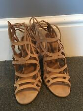 Size 4 Nude High Heels From Pretty Little Thing
