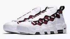 NIKE AIR MORE MONEY  White/Black-Team Red  AJ2998 100  Men's Size 14