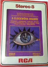 Ormandy Leinsdorf Fiedler Reiner - A CLOCKWORK ORANGE - RARE 8 track NEW SEALED