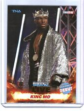 TNA King Mo #14 2013 Impact Wrestling LIVE GOLD Parallel Card SN 27 of 50