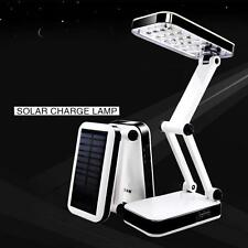 24 LED Solar Foldable Desk Lamps Rechargeable Table Light for Reading OC AU #330