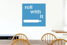 Roll With It Vinilo Pegatinas De Pared Adhesivo Decoración