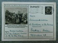 Deutsches Reich Ganzsache Bildpostkarte 37-81-1-B3 gestempelt