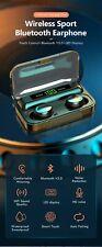 Bluetooth Wireless Headphones with Mic Sports Waterproof TWS Bluetooth Earphones