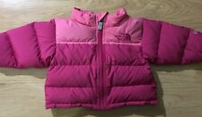 The North Face Coat Baby Toddler size 0-3 Months Pink Goose Down Warm