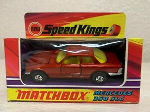 Matchbox Speed Kings K-48 Mercedes 350 SLC 1973 Lesney England NEW UNOPENED MIB