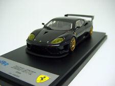 1/43 BBR BG282 Ferrari 360 GTC 2004 Black/Gold Wheels
