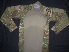 MULTICAM SHIRT MASSIF GEAR COMBAT MEDIUM-REGULAR USA MILITARY ISSUE ACU CAMO wbl