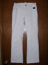 WOMENS WHITE HARLEY DAVIDSON JEANS PANTS - AUTHENTIC Size 6 High Waist