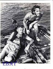 Charlton Heston barechested Vintage Photo Ben Hur