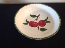 "Vintage Blue Ridge QUAKER APPLE 9"" Round Serving Bowl"