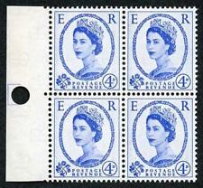 SG593 4d 2nd Graphite Marginal U/M Block of Four (ebay 3)