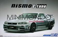 KIT Z-TUNE NISSAN SKYLINE GT-R R34 2004 1/24 AOSHIMA 05316 053164