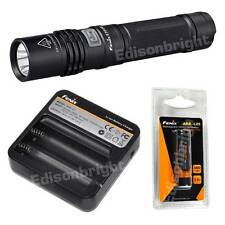 Fenix E35 UE 900 Lumen CREE LED Flashlight ARB-L2S Battery ARE-C1 Charger E35UE