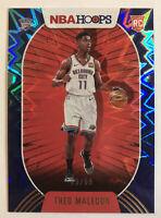 2020-21 Panini NBA Hoops Theo Maledon Blue Explosion  /59 SSP Rookie RC Thunder