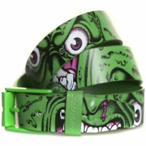 "SANTA CRUZ Skateboard Belt - Rob Roskopp Face - L/XL ADULT /  34"" - 38"" waist"