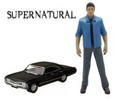 Supernatural Exclusive Dean Figure with Impala Sedan 1:64 Scale Car