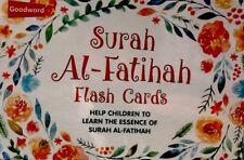 SURAH AL-FATIHAH)Help children To learn,The Essence of Surah Al-fatihah for Mus;