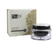 Nubi Facial Peeling Gel | Exfoliates Face with Sea Salt and Nut Shell Powder
