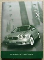 JAGUAR X TYPE 2 LITRE V6 Car Press Media Information Pack CD Photos 2001