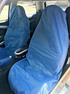 1 x pair of fabric universal service/mechanic seat covers