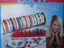 Loop  Loom Bracelet Maker Armband  Schmuck Macher inkl. Webstuhl  Looms Neu OVP