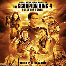 SCORPION KING 4: QUEST FOR POWER Geoff Zanelli SCORE CD La-La Land NEW Mint!