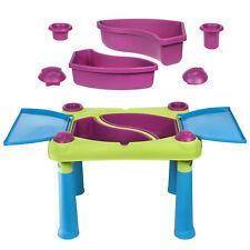 aufklappbarer Spieltisch für Kinder Sand Kindertisch Keter Creative fun neu