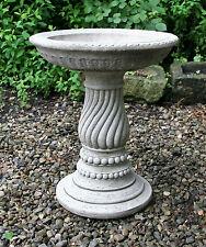 Stone Bird Bath Cast Stone Garden Ornament Statue