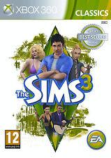 THE SIMS 3 Per PAL Xbox 360 (nuovo e sigillato)