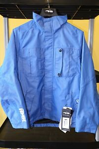 HMK Women's Shell Hustler Jacket Blue Size Large Snowmobile Coat Winter Snow