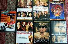 Lot of 7 Preowned DVDs, Strangers on a Train, Where Eagles Dare, Runaway Jury +4