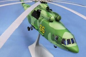 Molded model helicopter's MI-26 in coloring CAMOUFLAGE Scale 1/72