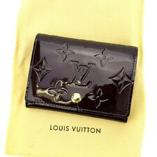 Louis Vuitton Card Case Vernis Woman Authentic Used Y4530