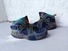 Nike Air Raid Size 7 7Y Boys Mens Peace 2014 Retro Urban Jungle Shoes Sneakers