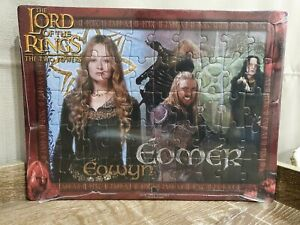 2 x Lord Of The Rings The Two Towers 2002 Collectors Jigsaw Puzzles By Blue Opal