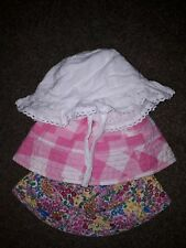 Girls age 6-12 months hats 2 x NEXT & 1 x MOTHERCARE