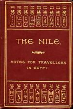 ARCHAELOGY - ULTRA RARE - EGYPT & NILE - ORIGINAL 1893 TRAVELLERS GUIDE TO SITES