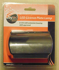 Jaylec LED Number Plate Lamp for Car Boat Plant Box Trailer Caravan Licence Ute
