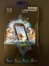 LIFEPROOF CASE FOR SAMSUNG GALAXY S4 FRE GENUINE SHOCK WATER PROOF BLA