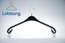 25 Stück Kunststoff Kleiderbügel schwarz NA 47 platzsparend flach Garderobe