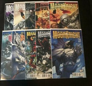 Marvel Comics VENGEANCE OF MOON KNIGHT 1-10 COMPLETE SET #1 IS ROSS VARIANT