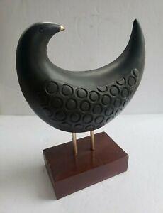 Mid Century Modern Bitossi Italy Style Bird Sculpture