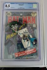 batman 251 1973 CGC 8.5 dc comic joker app